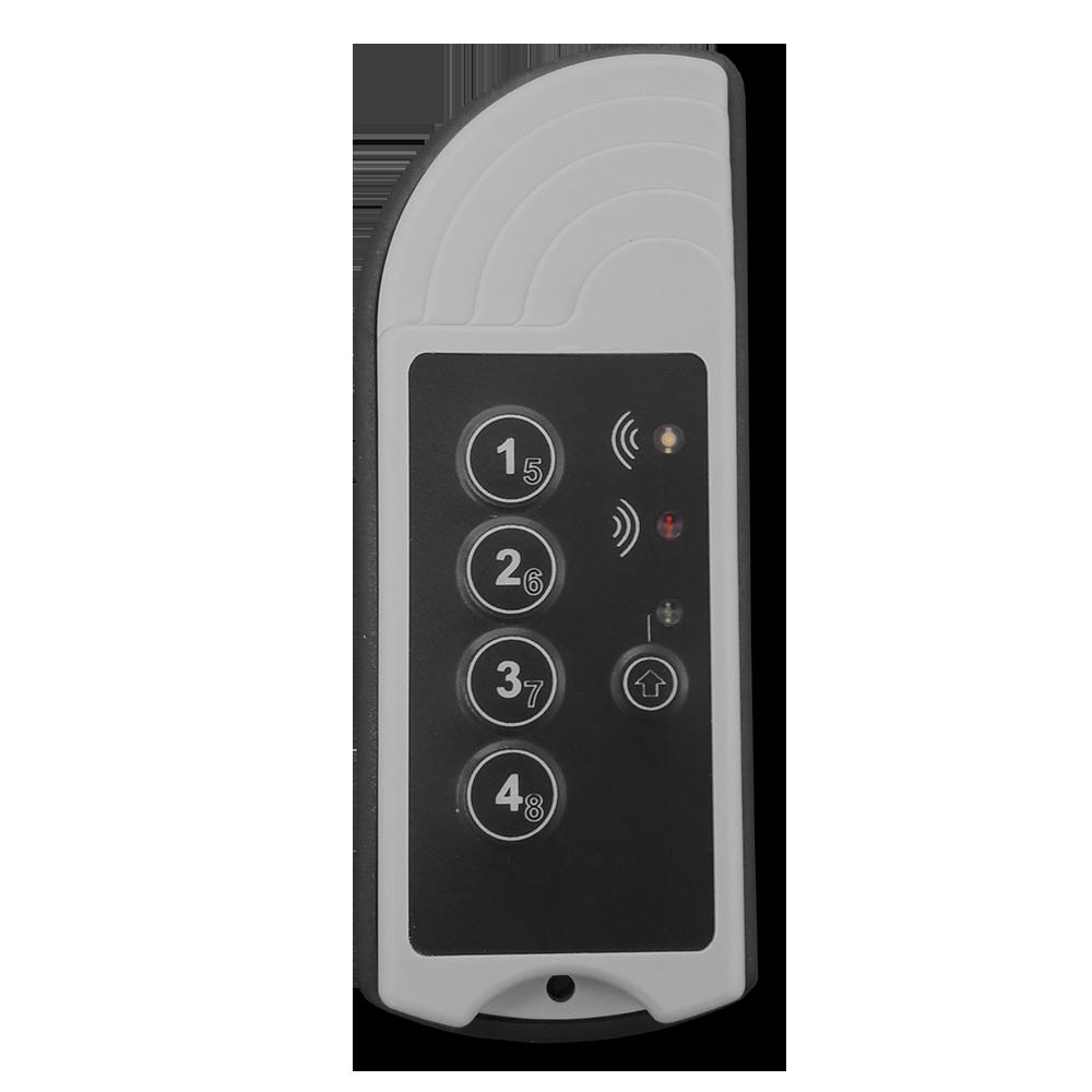 8-Kanal Handsender SHT-12 C8D mit Dichtung und opt. Adressierung