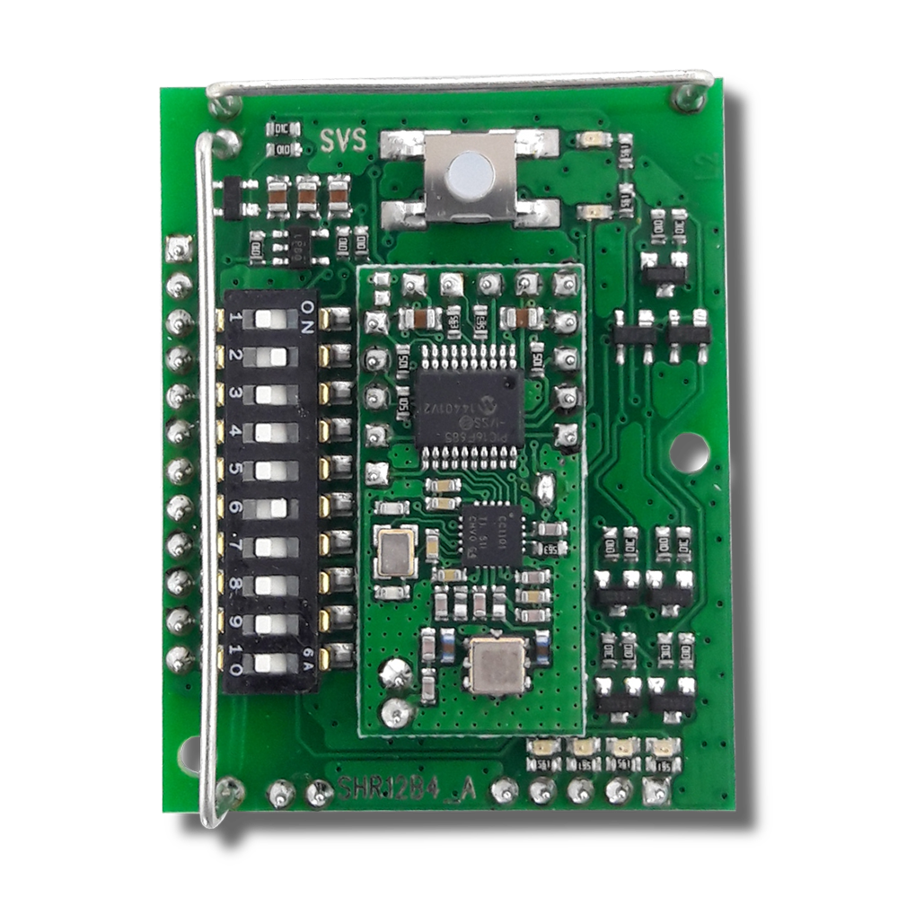 SHR-12 B4 receiver and evaluation module with opt. feedback